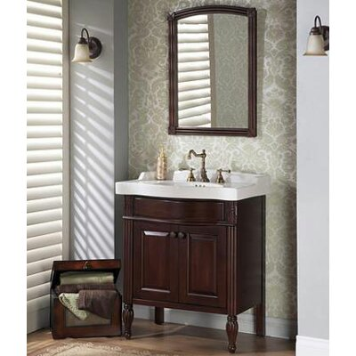 Fairmont Bathroom Vanities on On Fairmont Designs Maui 31 2 Bathroom Vanity Set In Dark Cherry 192