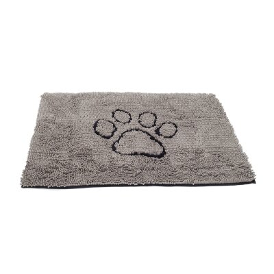 Doormat Size: Large ( 2 H x 26 W x 35 L), Color: Grey
