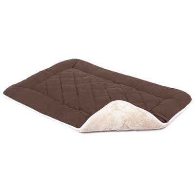 Anastasia Sleeper Dog Mat Size: Small (24 W x 19 D), Color: Espresso
