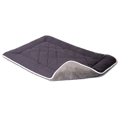 Anastasia Sleeper Dog Mat Size: XXL (48 W x 30 D), Color: Pebble Gray