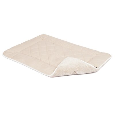 Anastasia Sleeper Dog Mat Size: Small (24 W x 19 D), Color: Sand