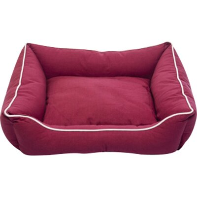 Lounger Color: Berry, Size: Small ( 22 L x 20 W)