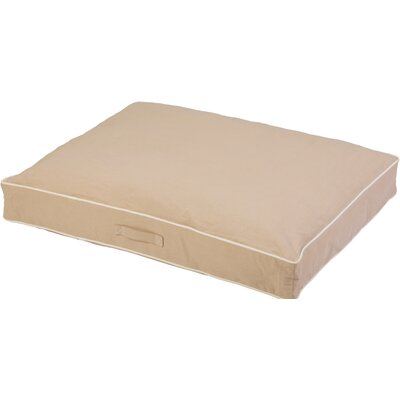 Repelz-It Canvas Dog Bed Size: Medium (34 L x 26 W), Color: Sand