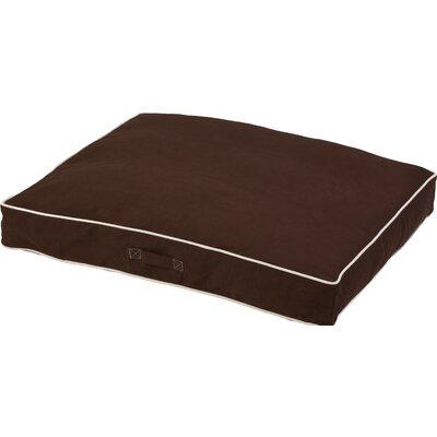 Repelz-It Canvas Dog Bed Color: Espresso, Size: Extra Large (48 L x 36 W)