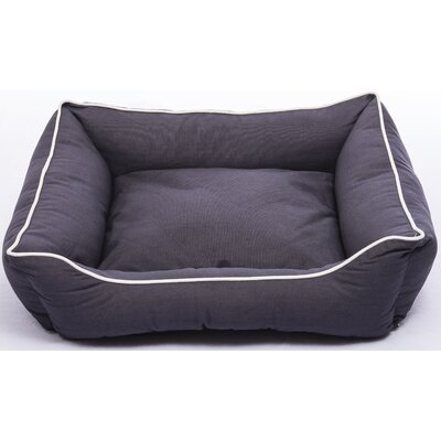 Repelz-It Lounger Dog Bed Color: Pebble Gray, Size: Extra Small (19 L x 15 W)