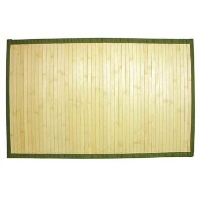 Bamboo Step Out Bath Rug Color: Natural
