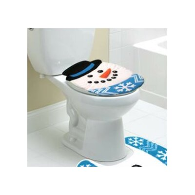 Oh What Fun Snowman Festive Toilet Seat Cover