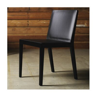 Low Price Luxo by Modloft Frith Side Chair Finish: Dyed Black