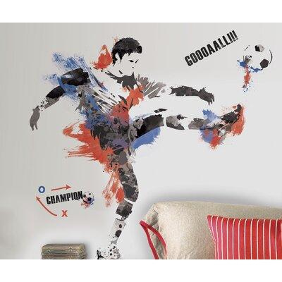 Studo 22 Piece Men's Soccer Champion Wall Decal RMK2490GM