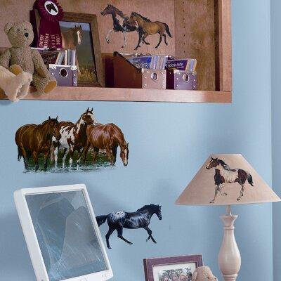 Studio Designs 24 Piece Wild Horses Wall Decal RMK1017SCS