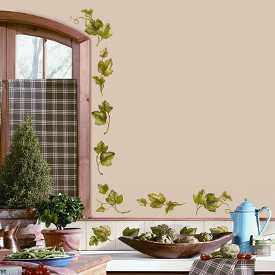 Room Mates Deco 26 Piece Evergreen Ivy Wall Decal RMK1219SCS