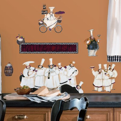 Room Mates Deco 15 Piece Chefs Wall Decal RMK1255SCS