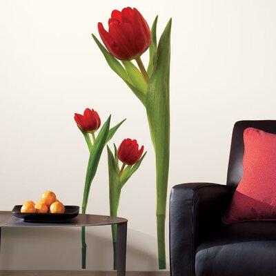 Room Mates Room Mates Deco 3 Piece Tulip Wall Decal RMK1308GM