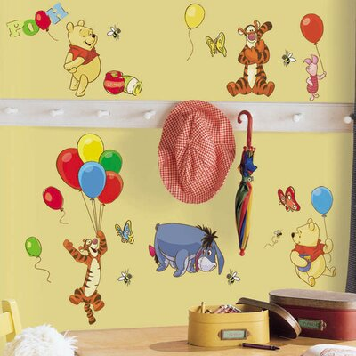 Pooh and Friends Wall Decal RMK1498SCS