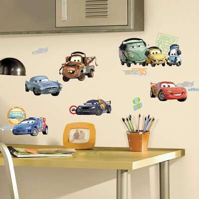 Room Mates Deco Car 2 Wall Decal RMK1583SCS