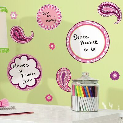 Room Mates Deco Paisley Dry Erase Wall Decal RMK1657SCS
