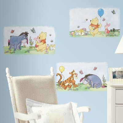 Room Mates Room Mates Deco Winnie The Pooh Poster Wall Decal RMK1637SCS