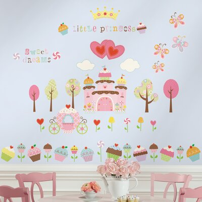 Room Mates Deco 56 Piece Happi Cupcake Wall Decal RMK1605SCS