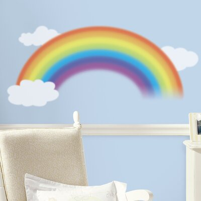 Room Mates Deco Over The Rainbow Wall Decal RMK1629GM