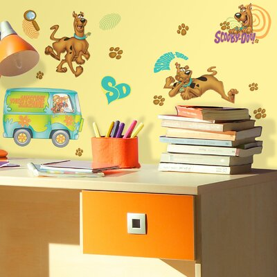 Room Mates Deco Scooby Doo Wall Decal RMK1696SCS