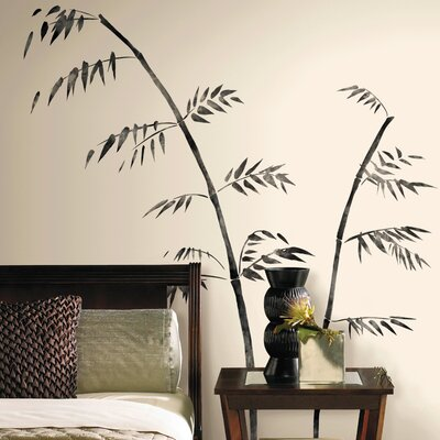 Room Mates Deco Painted Bamboo Giant Wall Decal RMK1603GM