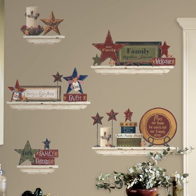 Deco Family and Friends Wall Decal RMK1568SCS