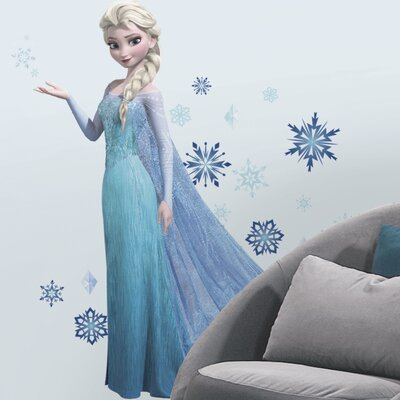 44 Piece Disney Frozen Elsa Giant Wall Decal Set