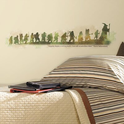 Peel and Stick Giant The Hobbit Quote Wall Decal RMK2161SCS