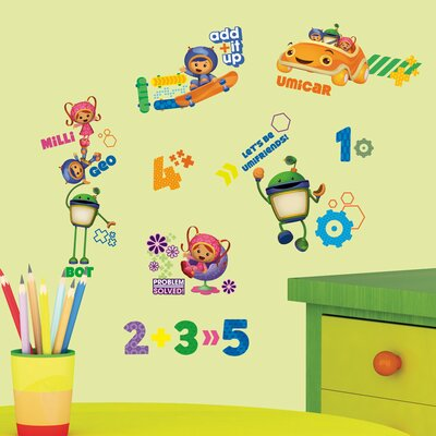 Room Mates Popular Characters Team Umizoomi Wall Decal RMK1916SCS