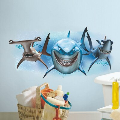 Finding Nemo Sharks Giant Wall Mural RMK2558GM