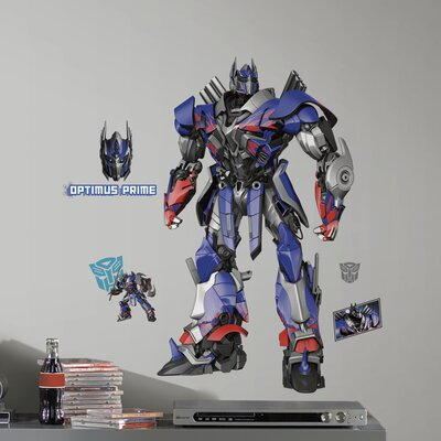 Transformers Age of Extinction Optimus Prime Giant Wall Decal RMK2527GM