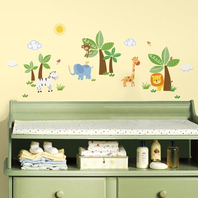 Jungle Friends Wall Decal RMK2635SCS