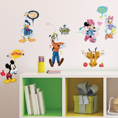 Mickey and Friends Animated Fun Wall Decal RMK2534SCS