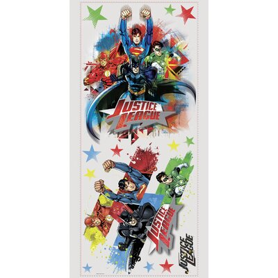 Popular Characters Justice League Wall Decal RMK2165GM
