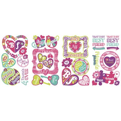 Best Friends Forever Wall Decal RMK2678SCS