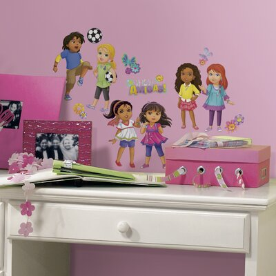 Room Mates Popular Characters Dora and Friends Wall Decal RMK2653SCS