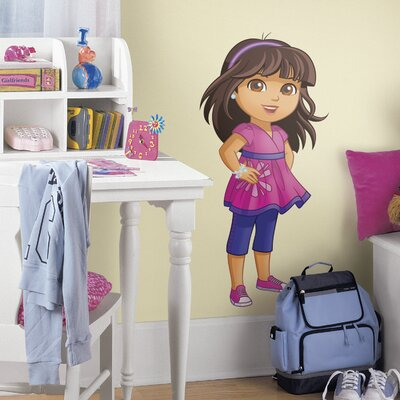 Room Mates Popular Characters Dora and Friends Wall Decal RMK2654GM