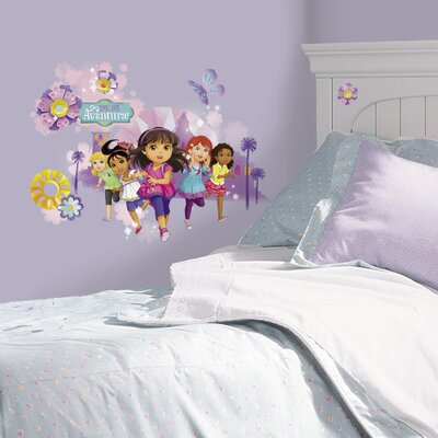 Room Mates Popular Characters Dora and Friends Wall Decal RMK2655GM