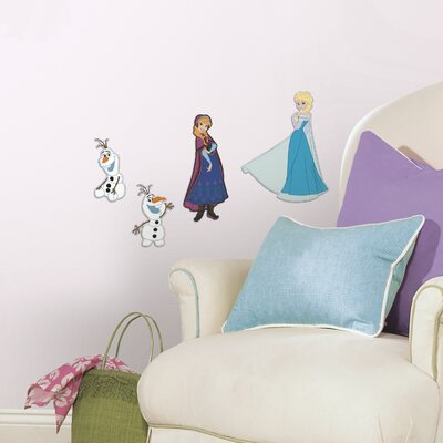 Popular Characters Frozen Wall Decal RMK2686FLT