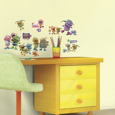 Popular Characters 23 Piece Henry Hugglemonster Wall Decal