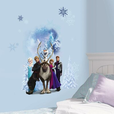 Internet Only Disney Frozen Character Winter Burst Wall Decal RMK2668GM