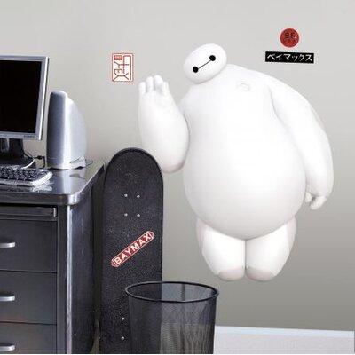Popular Characters Big Hero 6 White Baymax Wall Decal RMK2809GM