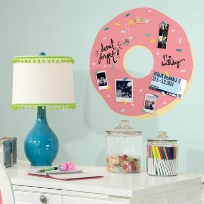 Doughnut with Sprinkles Giant Wall Decal RMK2794GM
