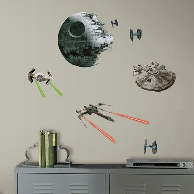 Star Wars Ep VII Spaceships P and S Wall Decal RMK3012SCS