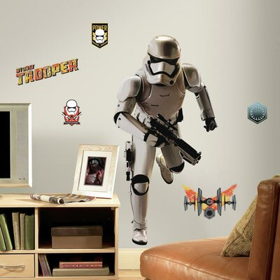Star Wars Ep VII Storm Trooper P and S Giant Wall Decal RMK3150GM