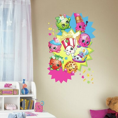 Shopkins Burst Peel and Stick Giant Wall Decals RMK3156TB