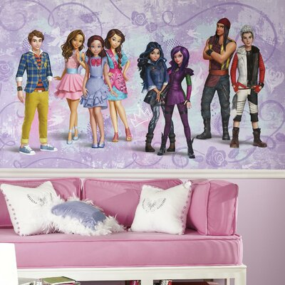 Room Mates The Descendants Chair Rail Prepasted Wall Mural JL1393M