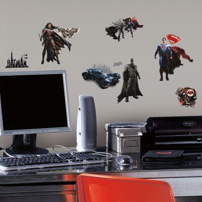 Room Mates Batman Vs. Superman Peel and Stick Wall Decal RMK3188SCS