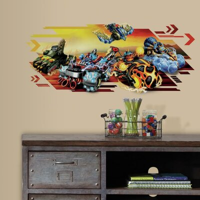 Activision Skylanders Superchargers Peel and Stick Giant Wall Decal RMK3187GM
