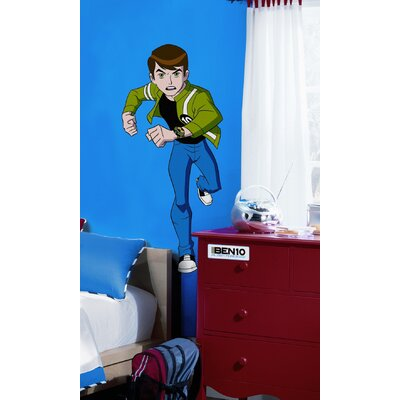 10 alien force giant peel and stick mural room mates surestrip ben 10 ...